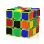 Magic Cube IQ Cube Yongjun Three-layer Speed / Noctilucent Smooth Speed Cube Magic Cube puzzle Green ABS