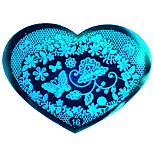 BlueZOO Love Blue Nail Art Stamping (16)
