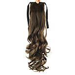 Length Stuffy Cyan Wig Ponytail 55CM Synthetic Pearvolume High Temperature Wire Color 2/30
