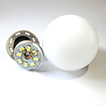 9W E27/B22 LED Globe Bulbs Recessed Retrofit 38LED SMD 2835 600lm Warm White/Cool White Decorative AC 220-240V 1pcs