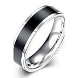 Men's/Womens'Fashion Cool black Cruciform IP silver Plated High Polished titanium steel(1pc)TGR020