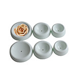 6 Pcs Plastic Cake Decorations Flower Forming Cups Fondant Cake Decorating Tools