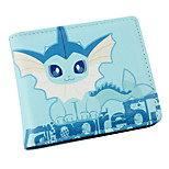 Inspired By Pocket Little Monster Vaporeon PU leather Wallet