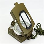 Compas/boussole Pochette / Pratique Randonnées / Camping / Voyage / Outdoor Alliage de métal Vert
