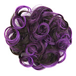 Wig Purple 5CM High-Temperature Wire Color Hair Ring Colour 2/33-3533