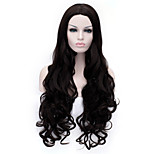 The New  Wig 30 Inch Black Curly Hair Wig in Points