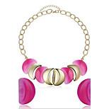 Women's Fashion Necklace Earrings Jewelry Set