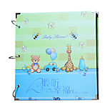 16 inch 30pcs sidekicks black card diy photo album Manual series Creative photo album