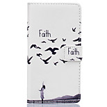 Faith Pattern PU Leather Material Phone Case for Huawei Ascend P9 Lite/ P9