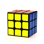 Magic Cube IQ Cube Yongjun Three-layer Speed Smooth Speed Cube Magic Cube puzzle Black ABS