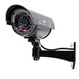 KingNEO 1pc Outdoor Dummy Camera Simulated Security Surveillance camera black