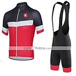 KEIYUEM®Others Short Sleeve Spring / Summer / Mountain Bike Cycling Clothing Bib Sets for Men/Women/ Breathable#42