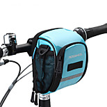 Bolsa para Manillar Cremallera a prueba de agua / Listo para vestir / A Prueba de Humedad / A Prueba de Golpes CiclismoCuero PU / Malla /