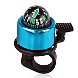 Aluminum alloy Bicycle Bell with The Compass, Brand New High Quality Bike Handlebar Ring Horn  4 Color Choices