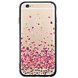 iPhone 6s Plus/6/iPhone 6s/6 TPU Soft Heart Back Cover