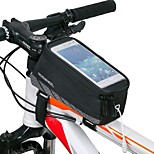 Roswheel® Cycling Bike Bicycle Handlebar Frame Pannier Front Top Tube Bag Pack Rack X for 4.8 Inch Mobile Cell Phone