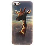 TPU Material + IMD Crafts Perfect Fit Helium Giraffe Pattern Cellphone Case for iPhone 5/5S/ SE
