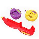 3 Pcs Kitchen Snack Chips Food Storage Bag Sealing Clip Fresh Sealer Locks Appendix (Random Color)