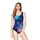 FuLang swim One-Piece Suits   Paige  Thin   sexy backless   The blue sky  SC084