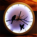 Fashion Creative Fun LED Lamp Luminous Wall Clock