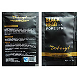 10PCS DOBERYL Facial Nose Blackhead Strip Remover Deep Cleaner Suction Peel Off Black Head Acne Pore Treatments Mask