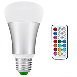 10W E26/E27 LED Bulbs, Color Changing + Daylight White 2-in-1, Dimmable with Remote Control, 60W Replacement,RGBW
