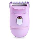 Epilator Women Body Electric LED Light Dry Shave Stainless Steel