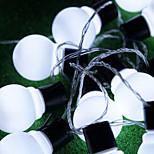 udendørs belysning 4cm stor størrelse førte bolden string lys AC220V christmas lys