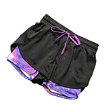 Fake Two Shorts Anti Emptied Pants Quick-drying Breathable Mesh Sports Fitness Treadmill Exercise Training