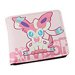 Inspired By Pocket Little Monster Sylveon PU leather Wallet