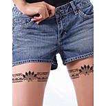 Fashion Large Temporary Tattoos Cartoons Sexy Body Art Waterproof Tattoo Stickers 2PCS  (Size: 5.71'' by 8.27'')
