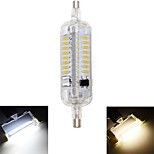 5W R7S LED Corn Lights T 76 SMD 4014 800 lm Warm White / Cool White Decorative / Waterproof AC 220-240 V 1 pcs