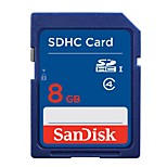sandisk origina 8gb class4 SDHC UHS-i carte mémoire