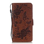 The Butterfly Pattern Printing PU Leather Wallet Case for Huawei Ascend P9 Lite(Assorted Colors)