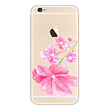 Full Body Case Transparent Body Flower TPU SoftApple iPhone 6s Plus/6 Plus / iPhone 6s/6