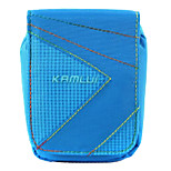S Size Camera Case for Casio zr1000/zr1200/rx100  7.5*3*9 Blue