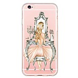 iPhone SE / 5s / 5 TPU Sexy Lady Back Cover