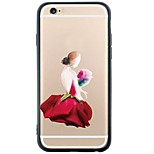 iPhone SE/5s/5 TPU Sexy Lady Back Cover