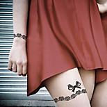 Fashion Temporary Tattoos Gift Sexy Body Art Waterproof Tattoo Stickers 5PCS  (Size: 3.74'' by 6.69'')