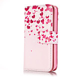 Imitation Denim Sewing Thread PU Leather Cover with Stand for iPhone 5/5S Case