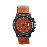 Men's Casual Watch LIANDU Love Of Outdoor Sports Fashion Men's Watch Men's Quartz Watch Nylon Belt