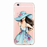 iPhone 6s Plus/6 Plus / iPhone 6s/6  TPU Sexy Lady Back Cover