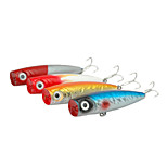 1 Pcs Hard Bait Popper 13CM 55G Sea Fishing Lure