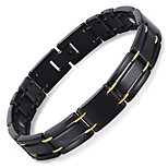 Free Shipping Fashion Jewelry Healing Magnetic 316L Stainless Steel Bracelet For Men Or Women With FIR 8.5