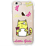 Etui Avant et Arrière corps Transparent Dessin-Animé TPU Doux Airbag AntifallCase Cover ForApple iPhone 6s Plus/6 Plus / iPhone 6s/6