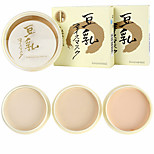 Fashion Natural Color Pressed Dry Smooth Corrector Oil Management  Powder Makeup Skin Care Face