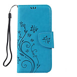 Butterflies Pattern PU Leather Material Phone Case for iPhone 6s Plus/6 Plus/6S/6