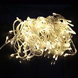 outdoor decoratie snaar licht LED 10m 100 led AC220V / 110V eu 8 modi voor party tuin vakantie kerstverlichting