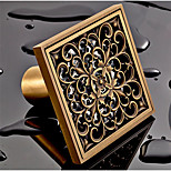 Drain Antique Copper Wall Mounted 100*100*50 Brass Antique