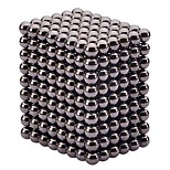 432pcs 5mm magic magnetic cube magnetic ball black color